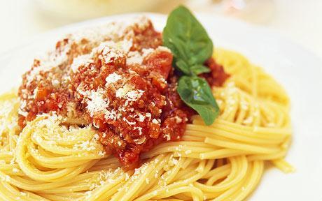 spagetti bolonez soslu